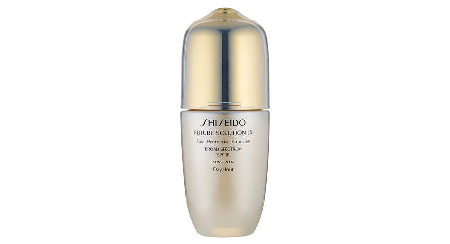 Future Solution LX Total Protective Emulsion Broad Spectrum SPF-18, Shiseido