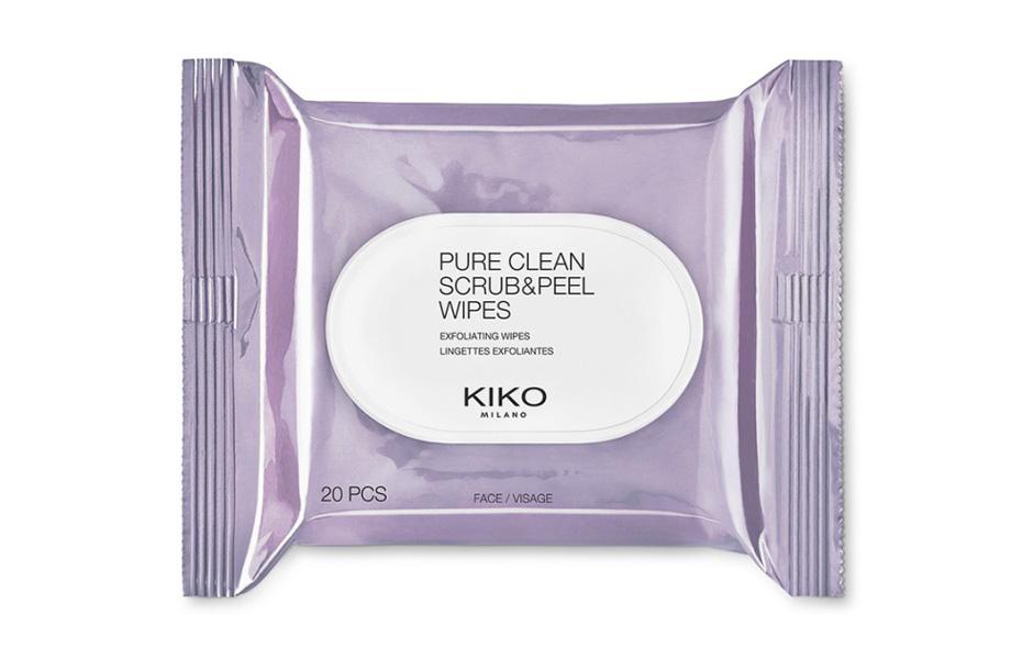 Отшелушивающие салфетки Pure Clean Scrub & Peel, Kiko. Спрашивайте в магазинах Киева, Москвы, Варшавы, Рима и других европейских столиц