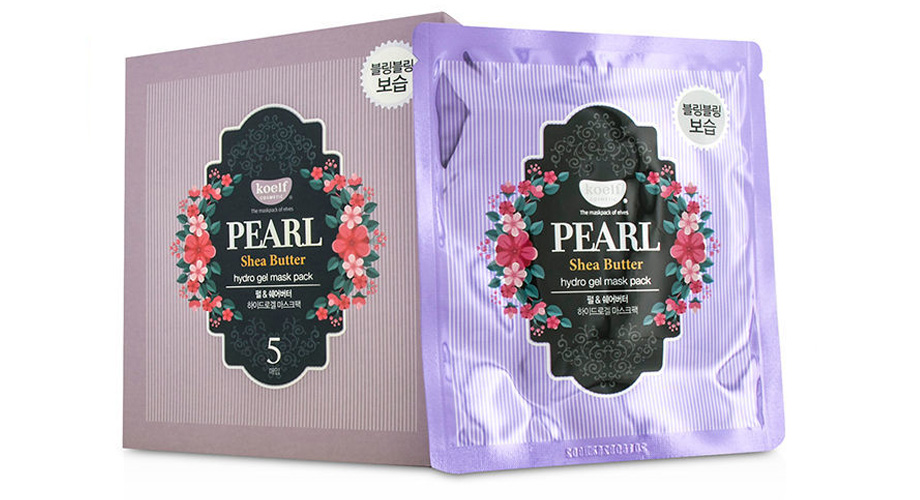 Pearl Shea Butter hydro gel mask pack