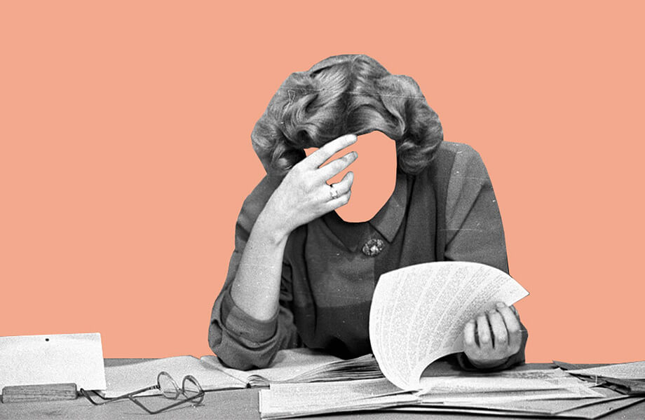 Девушка стресс на работе вероника морозова