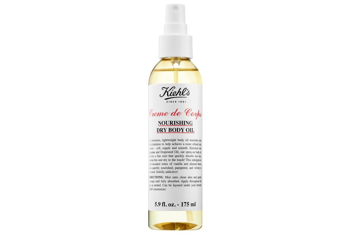 Сухое масло для тела Kiehl's Creme de Corps Nourishing Dry Body Oil