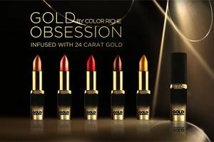 Золотая лихорадка: за что любить помады Color Riche Gold от L'Oreal