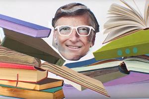 Книжная полка: Билл Гейтс советует летнее чтение