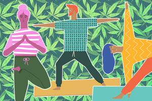 Марихуана и фитнес: новый вид йоги в Калифорнии