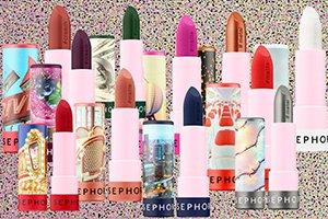 Sephora представила 40 забавных помад