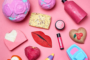 Lush выпустил банную коллекцию ко Дню влюбленных