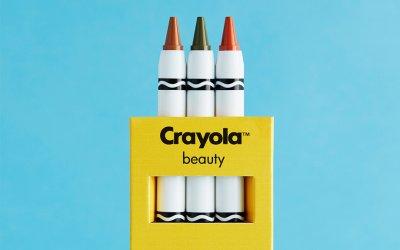 Бренд Crayola создал коллекцию макияжа вместе с ASOS