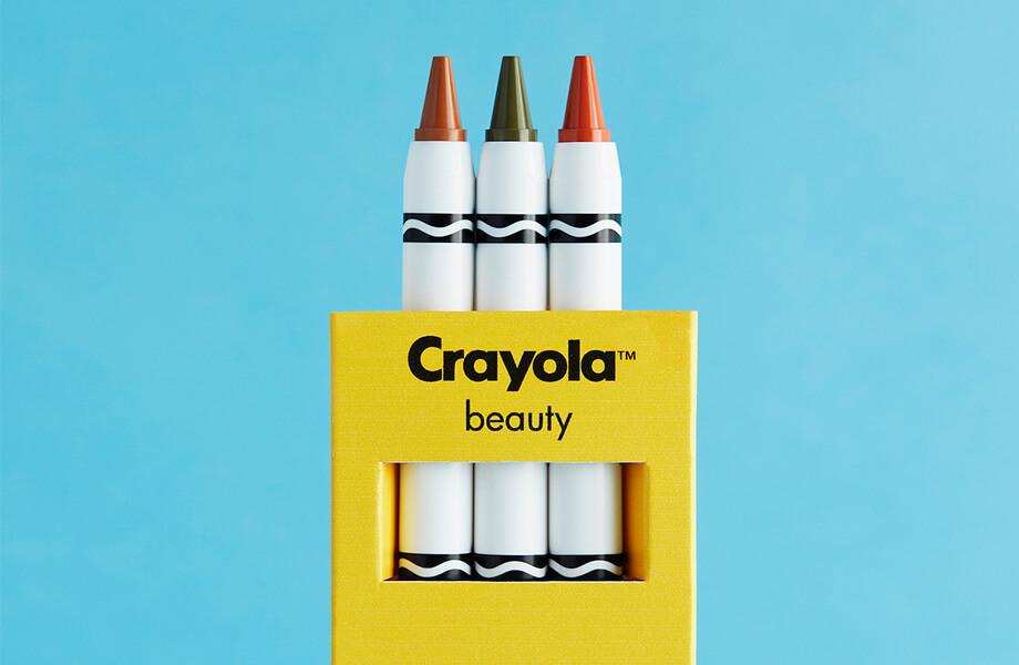 линия макияжа crayola asos