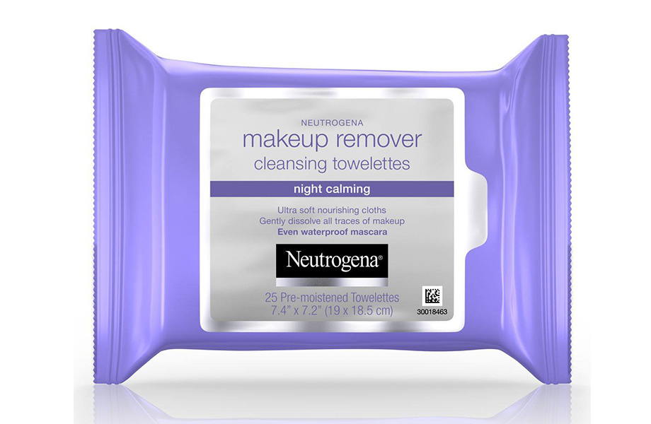 Neutrogena Makeup Remover Night Calming Cleansing Wipes