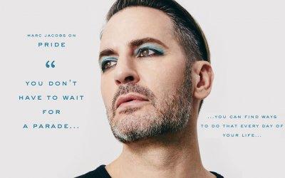 Марк Джейкобс снялся в кампании Marc Jacobs Beauty