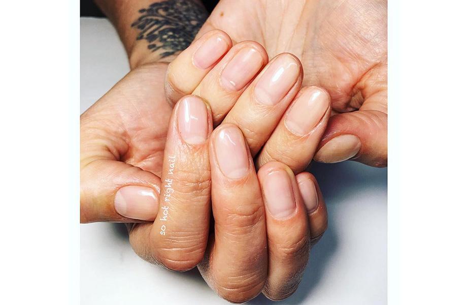 маникюр голые ногти