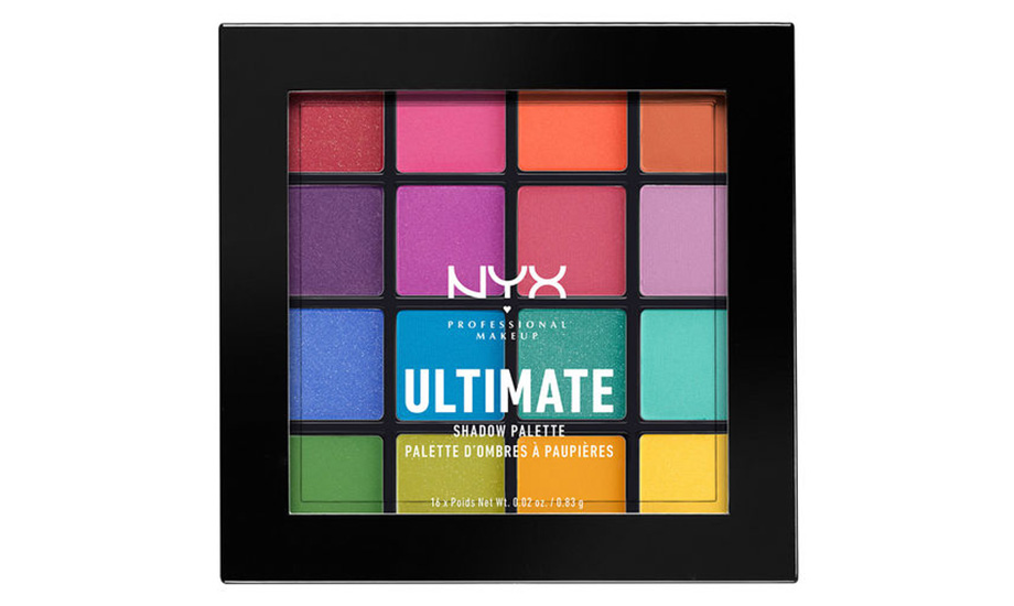 NYX Professional Makeup Ultimate Shadow Palette, Brights