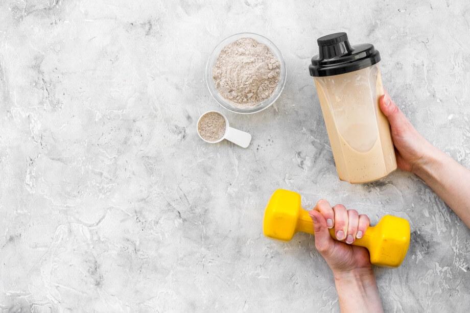 Когда правильно пить протеиновые коктейли