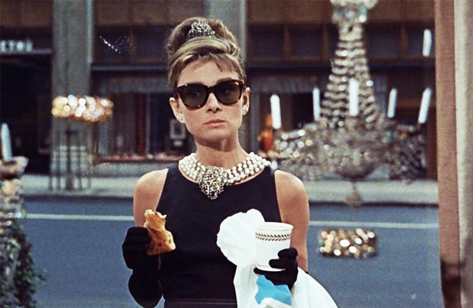Завтрак у Тиффани платье Givenchy