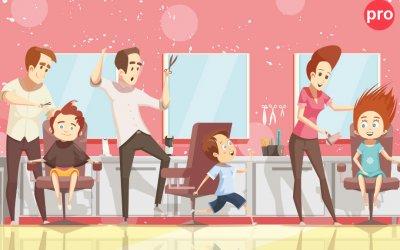 Что делать, если ребенок боится стричься в парикмахерской