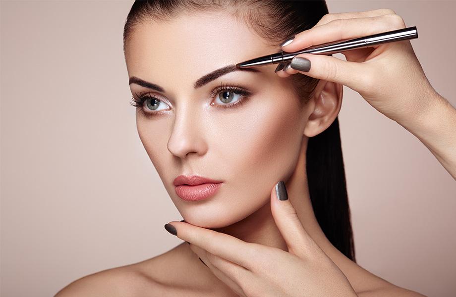 Как делать правильный макияж бровей