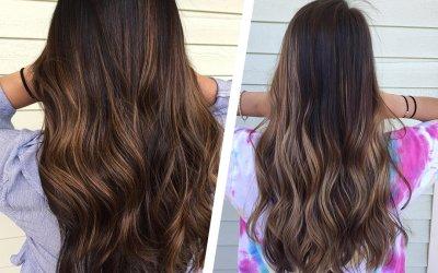 Горячий тренд: щадящее «нитевое» осветление волос