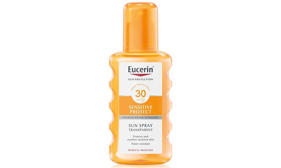 Масло для загара прозрачное с SPF 30, Eucerin