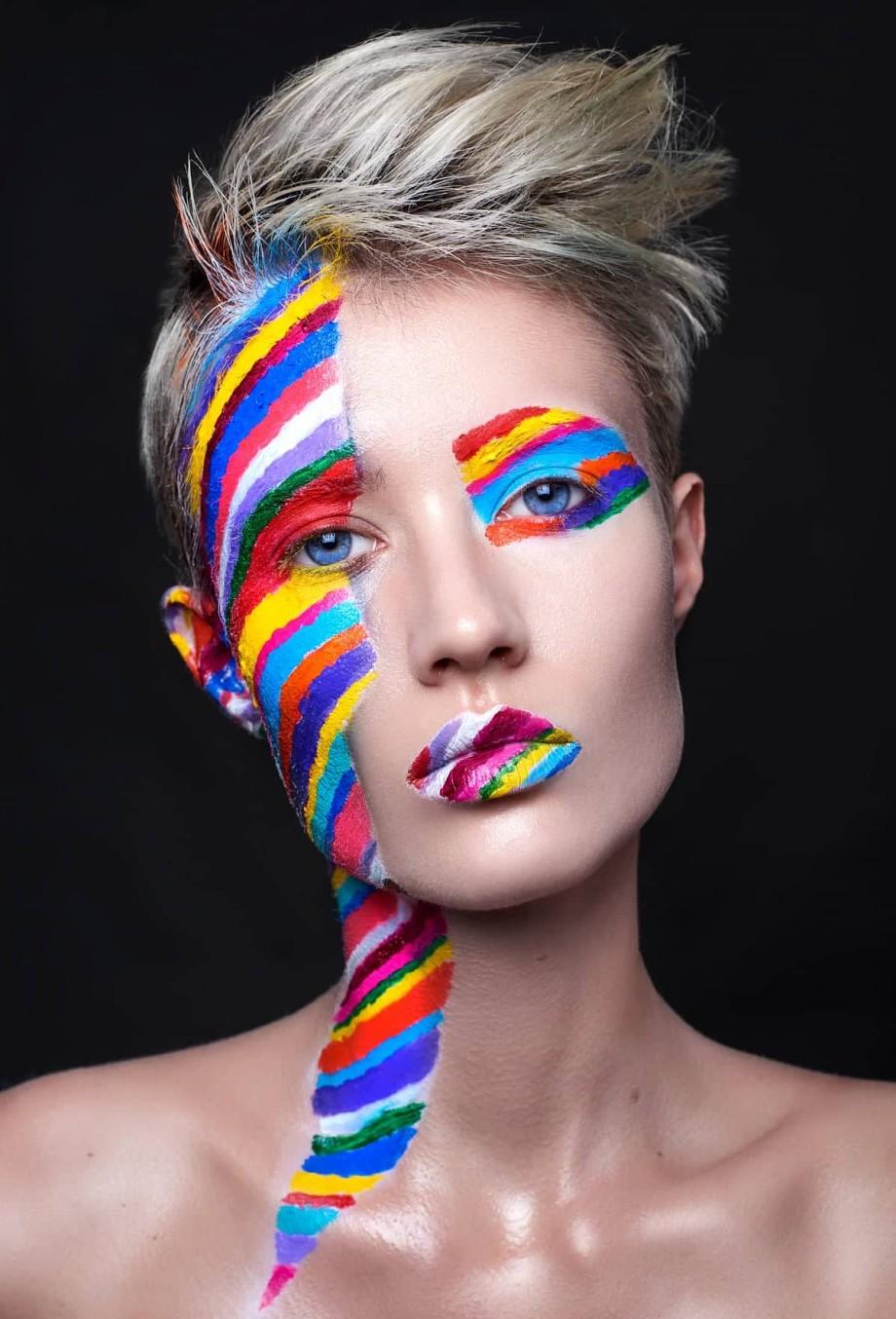 Валерия Куцан макияж