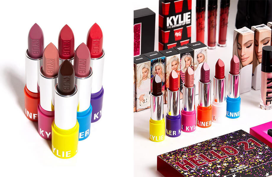 Помады Kylie Cosmetics