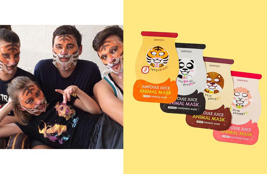 Somoon, Ampoule Juice Animal Mask