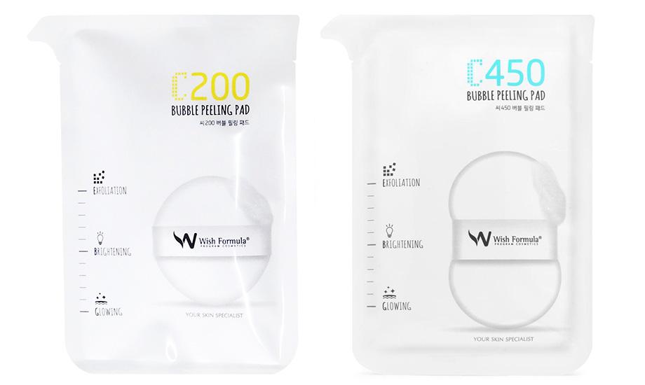 Wish Formula, Bubble Peeling Pad C200 & C450