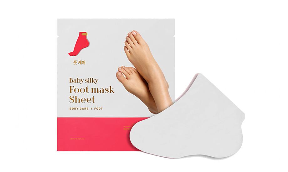 Holika Holika, Baby Silky Foot Mask Sheet