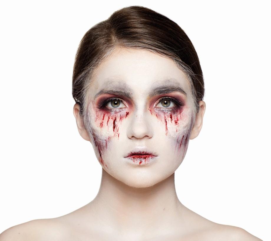 Примеры макияжа на Хэллоуин
