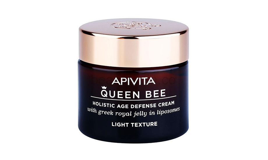 Apivita, Queen Bee Holistic Age Defence Cream Light Texture