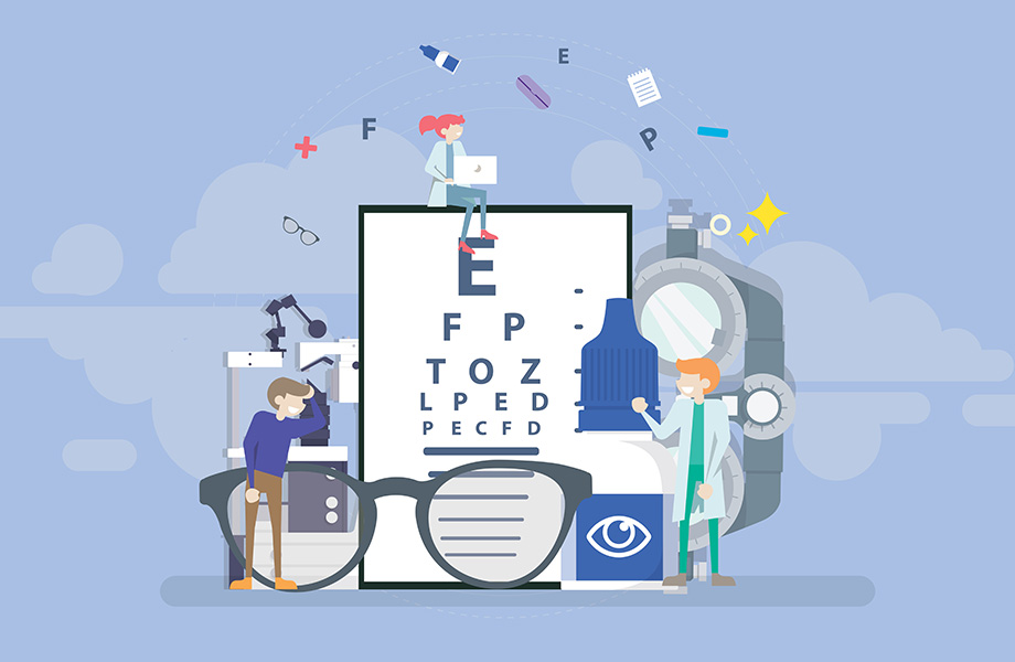 Профилактика проблем со зрением