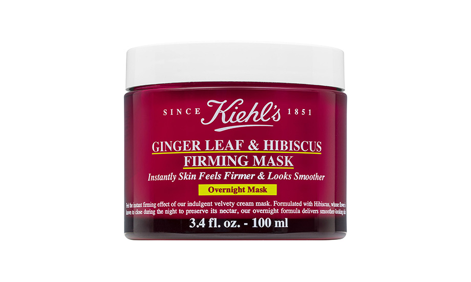 Kiehl's, Ginger Leaf & Hibiscus Firming Overnight Mask