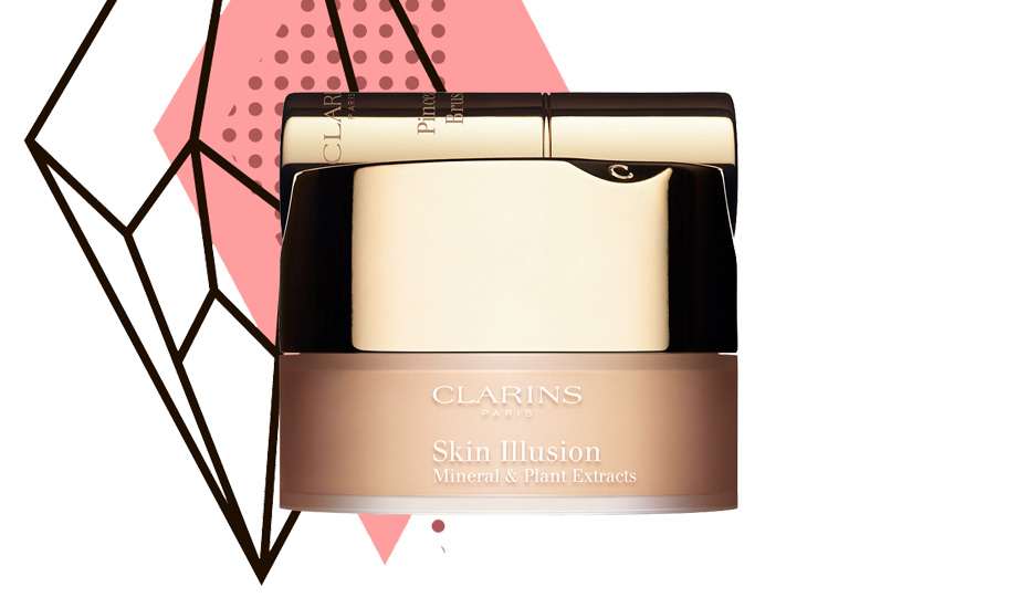 Clarins, Skin Illusion Mineral & Plant Extracts Loose Powder Foundation