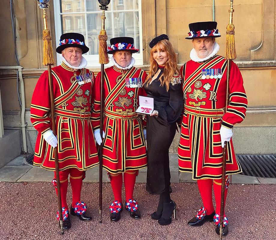 Шарлотта Тилбери стала кавалером Ордена Британской империи