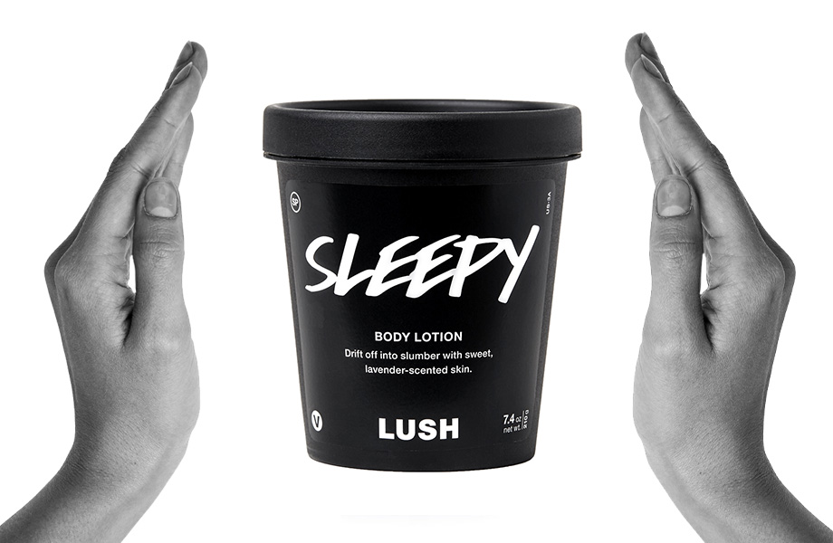 LUSH Sleepy Lotion Sleepy