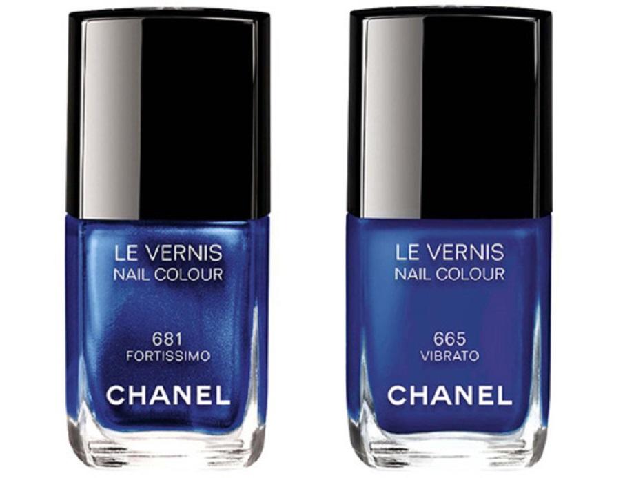модные оттенки лаков для ногтей 2019 - Chanel Le vernis Nail Colour