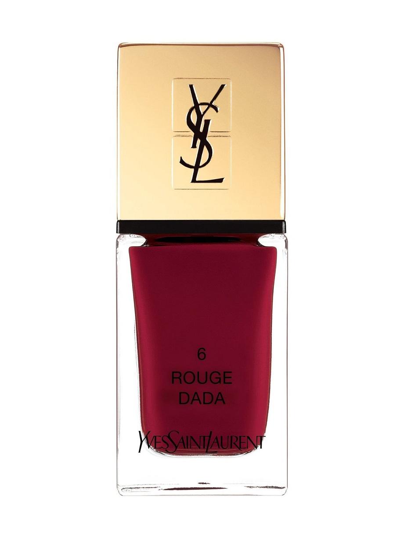 модные оттенки лаков для ногтей 2019 - YSL La Laque Couture
