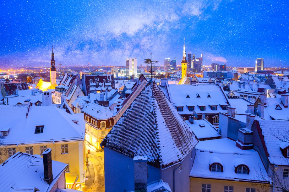 Таллин Новый год 2019