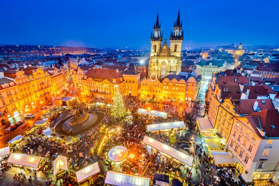 Прага Новый год 2019