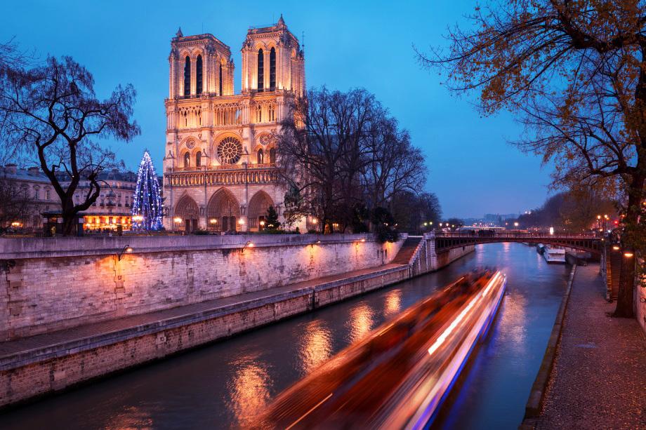 Париж Новый год 2019