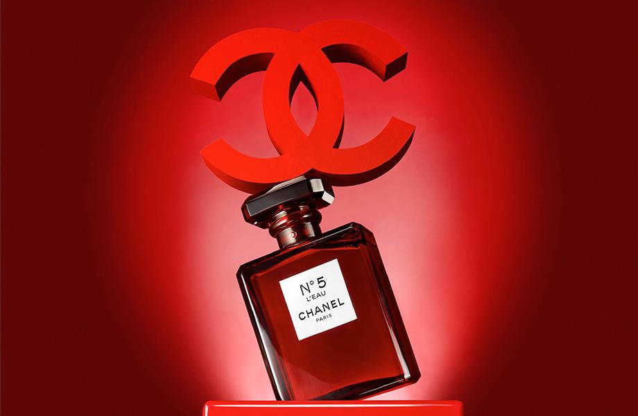 покупка ноября 2018 Chanel 5 Leau Red Edition Beauty Hub