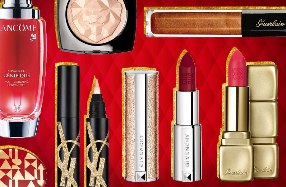 Рождественские коллекции макияжа 2018