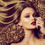 Средства для волос с блестками