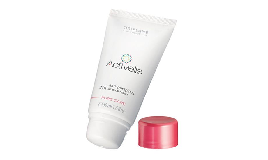 Oriflame, Activelle Pure Care Anti-Perspirant 24h Deodorant Cream
