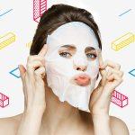 Тканевые маски против акне
