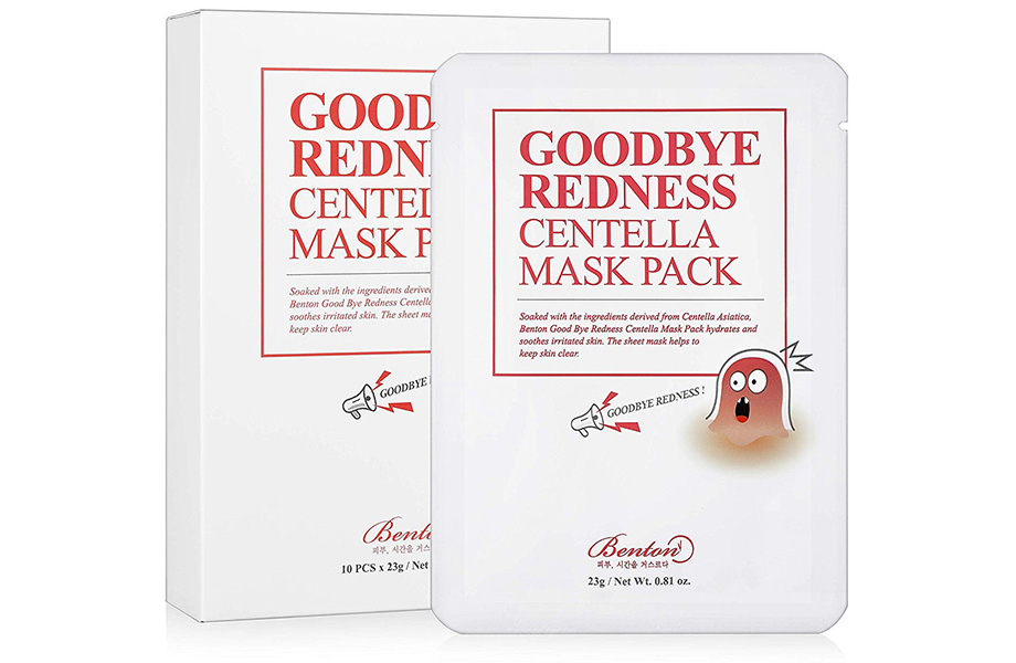 Benton Good Bye Redness Centella Mask Pack