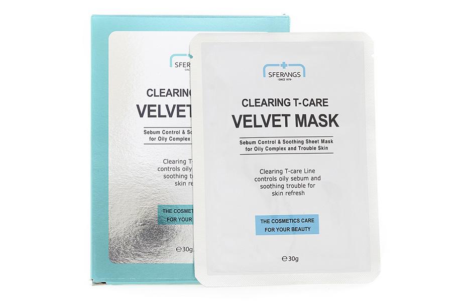 Sferangs Clearing Т-care Velvet Mask