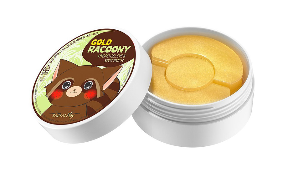 Secret Key Gold Racoony Hydrogel Eye Patch