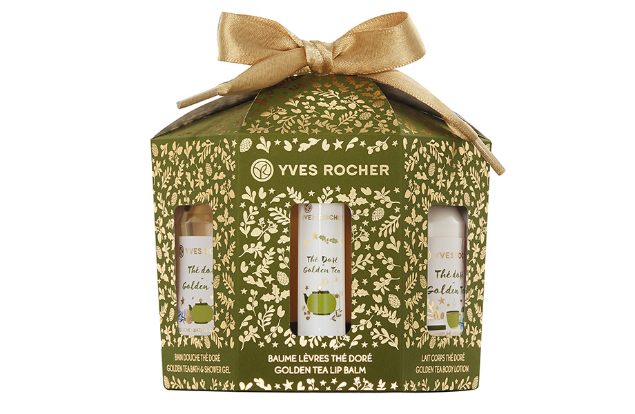 Yves Rocher, Holiday Ornaments Kit Golden Tea