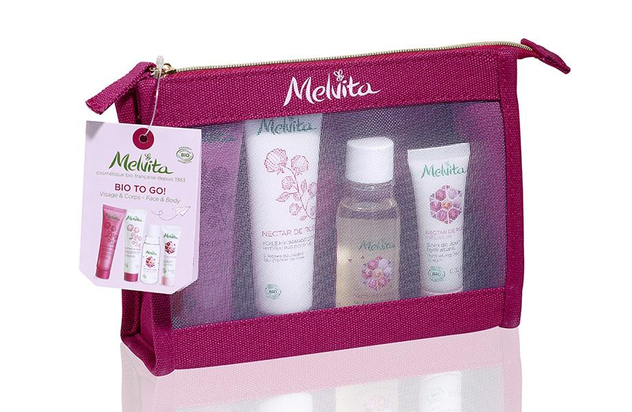 Melvita, Travel Holiday Kit Rose