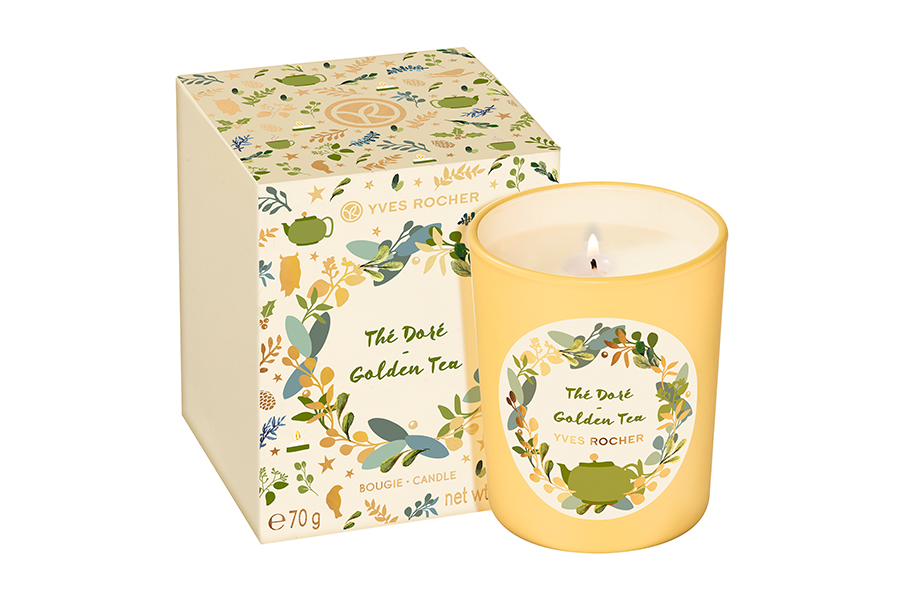 Yves Rocher, Candle Golden Tea